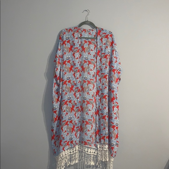 Forever 21 Sweaters - Forever 21 Kimono Cardigan